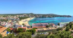 Santa Ponsa property market view.