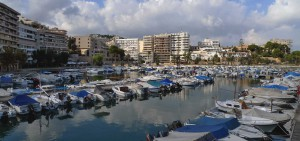 El Terreno property market view over the harbor.