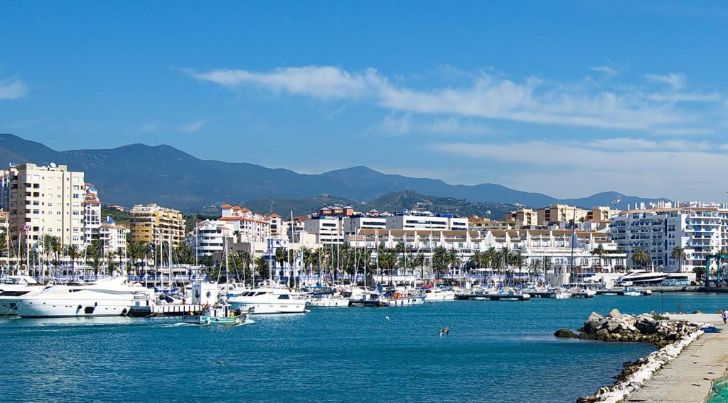 Estepona property selection next to marina.