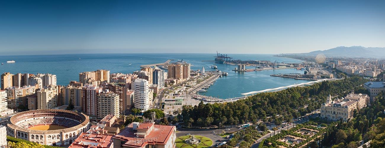 Malaga harbour Casafari