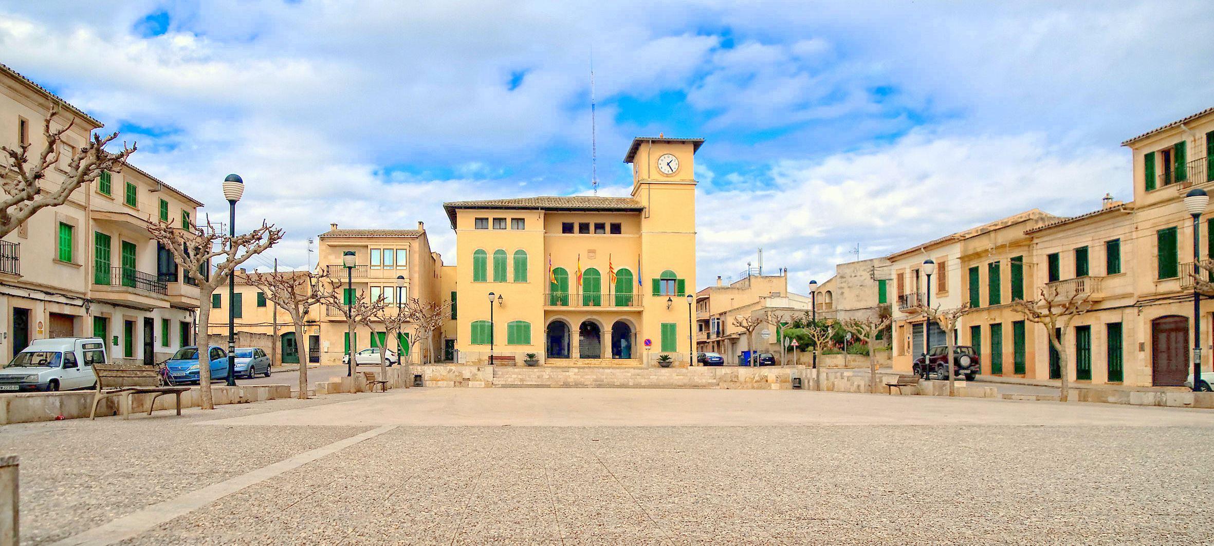 Ses Salines property market center.